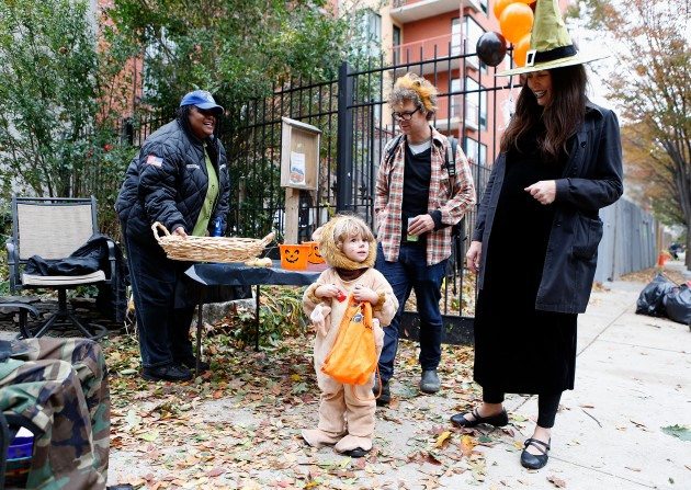 Halloween 2012 In New York City