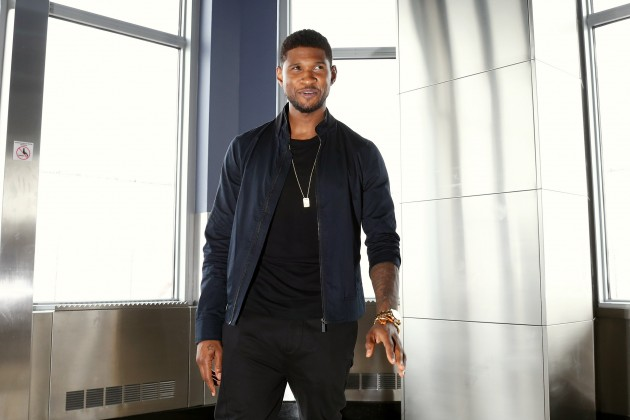 Usher Lights The Empire State Building In Celebration Of Independence Day