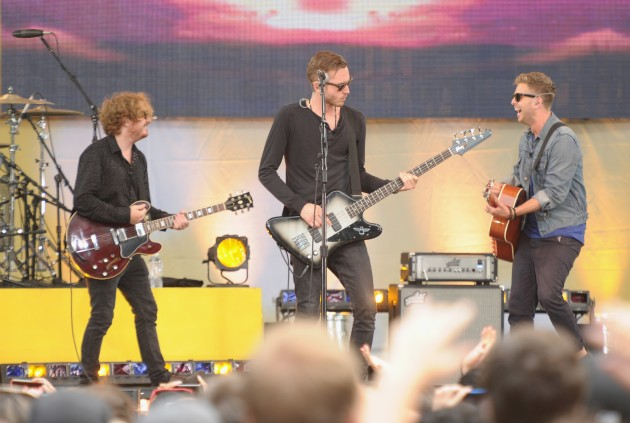 "One Republic Perform On ABC's ""Good Morning America"""