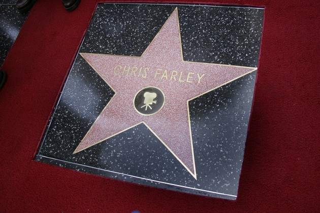Chris Farley To Be Honored Posthumously With Star On The Walk Of Fame