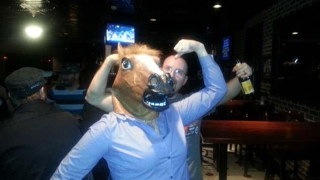 Rubber Horse Head fun