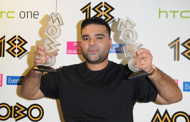 The 18th Annual MOBO Awards - Press Room