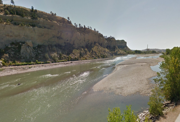 Yellowstone River- GoogleMaps